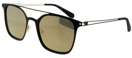 Guess GU6923-02G-53 Square Unisex Black Frame Brown Lens Genuine Sunglasses Image 0