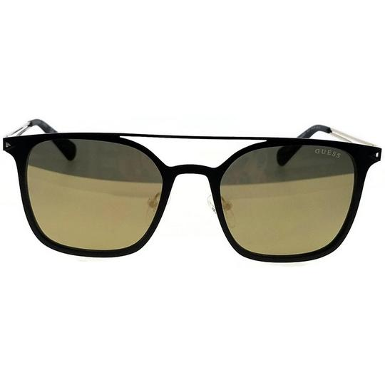 Guess GU6923-02G-53 Square Unisex Black Frame Brown Lens Genuine Sunglasses Image 1