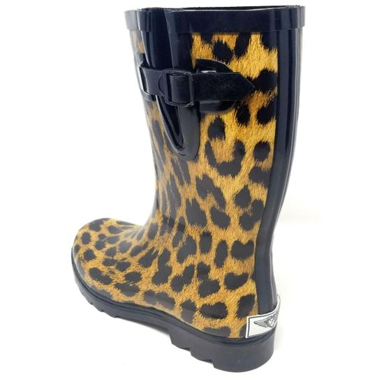 Forever Young Rainboot Rain Waterproof Wellies Galoshes Leopard Boots Image 1