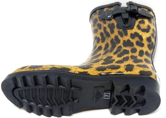 Forever Young Rainboot Rain Waterproof Wellies Galoshes Leopard Boots Image 2