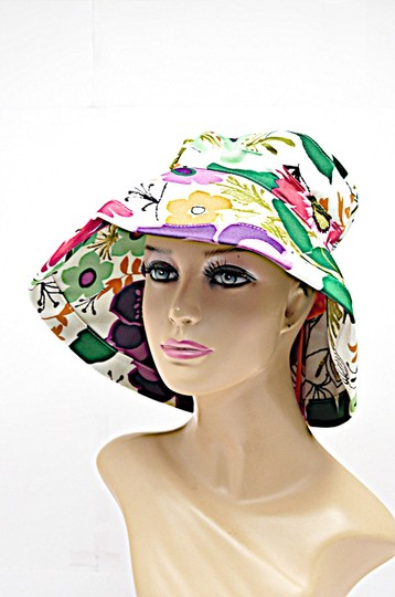 Jim Thompson Summer Summer Hat Floral Tote in Multicolor Image 3