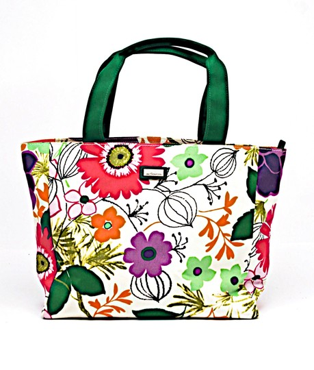 Jim Thompson Summer Summer Hat Floral Tote in Multicolor Image 9