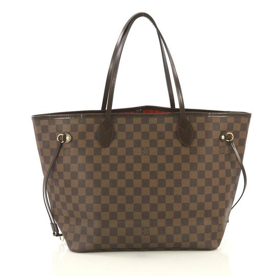 Louis Vuitton Neverfull Tote in brown Image 2