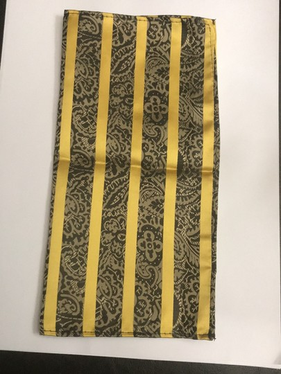 Other Gold And Black Stripes With Paisley Detail Square Image 2