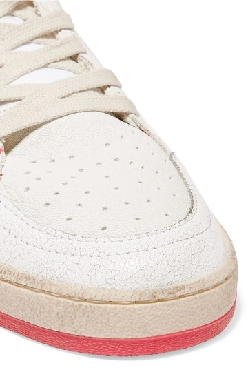 Golden Goose Deluxe Brand Designer Sneaker Fashion Sneaker Sneaker Sale Superstar White and Red Leather Athletic Image 2