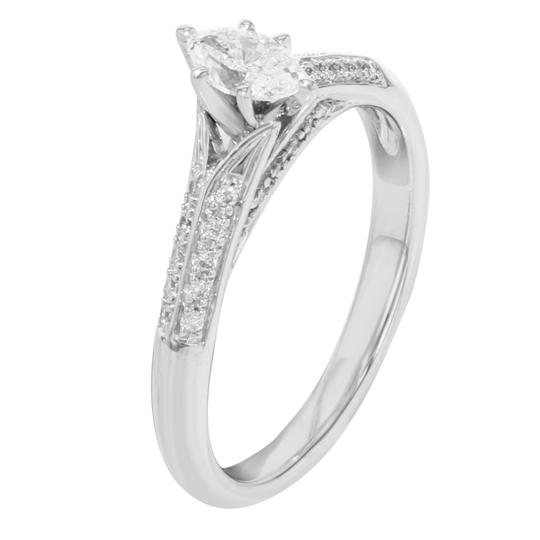 Rachel Koen Diamonds Ladies Engagement Ring 0.75 Cttw 3.2 g Image 2