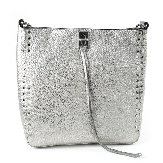 Preload https://img-static.tradesy.com/item/25679422/rebecca-minkoff-woven-chain-camera-platinum-genuine-leather-shoulder-bag-0-0-540-540.jpg