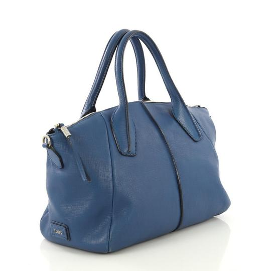 Tod's Leather Satchel in blue Image 1