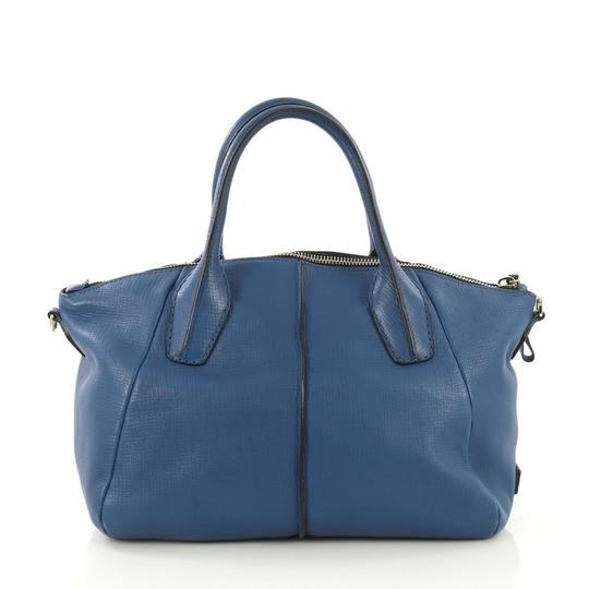 Tod's Leather Satchel in blue Image 2