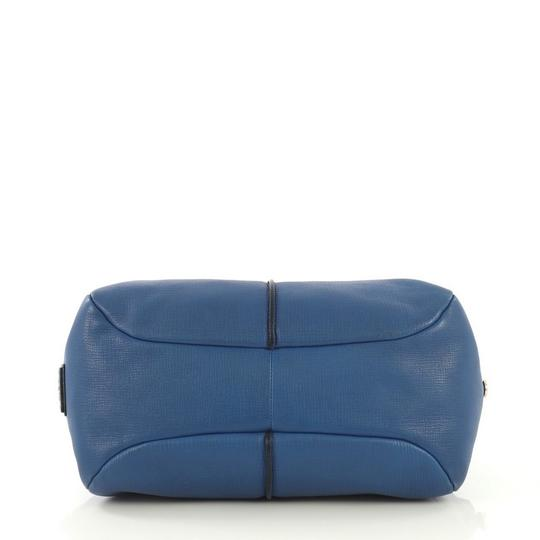 Tod's Leather Satchel in blue Image 3