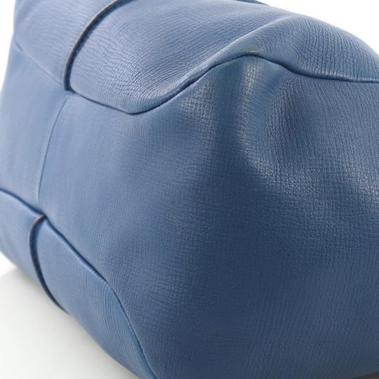 Tod's Leather Satchel in blue Image 5