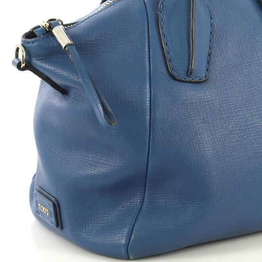 Tod's Leather Satchel in blue Image 6