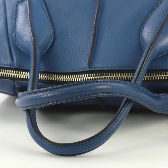 Tod's Leather Satchel in blue Image 7