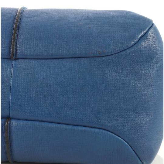 Tod's Leather Satchel in blue Image 8