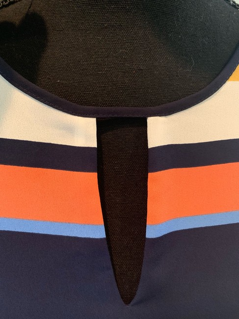 Karl Lagerfeld Top blue/orange/multi Image 1