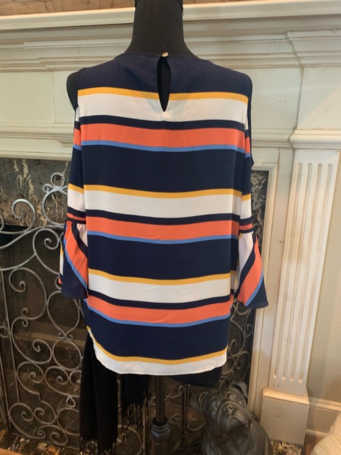 Karl Lagerfeld Top blue/orange/multi Image 3