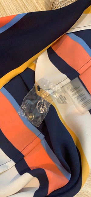 Karl Lagerfeld Top blue/orange/multi Image 7