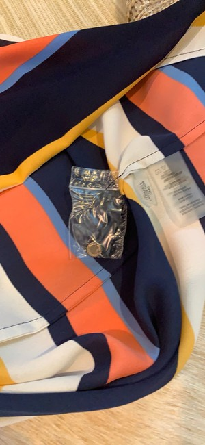 Karl Lagerfeld Top blue/orange/multi Image 8
