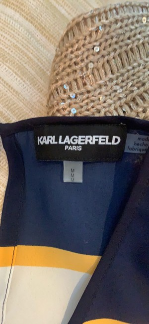 Karl Lagerfeld Top blue/orange/multi Image 9
