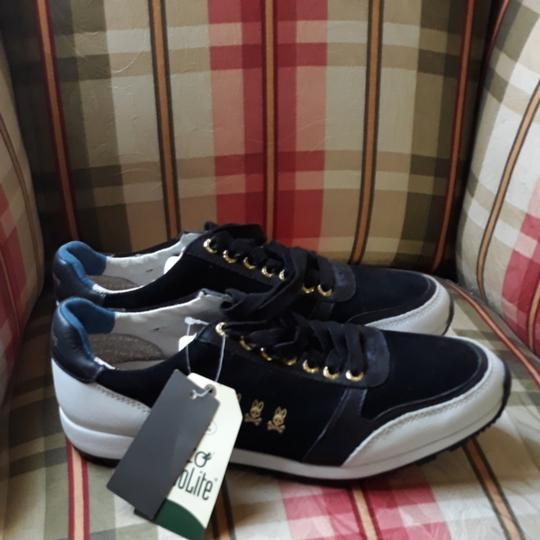 Preload https://item3.tradesy.com/images/blue-black-and-white-sneakers-size-us-8-regular-m-b-25679457-0-0.jpg?width=440&height=440