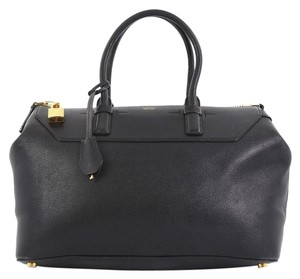 Tom Ford Petra Calfskin Medium Tote in black