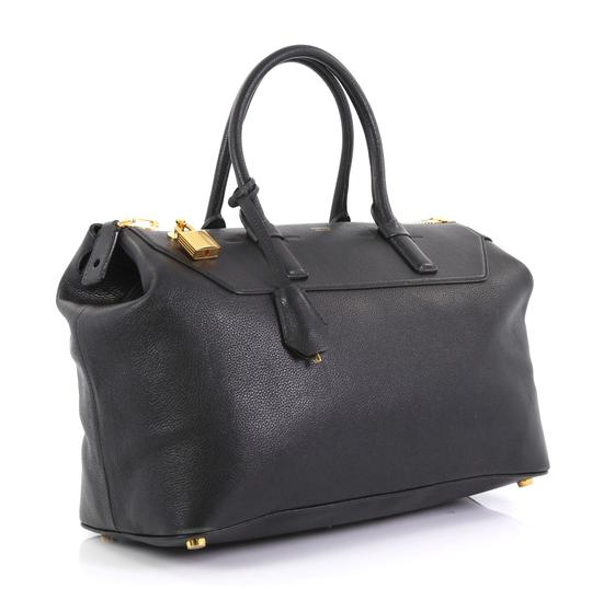 Tom Ford Petra Calfskin Medium Tote in black Image 2