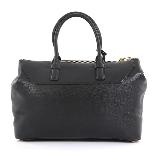 Tom Ford Petra Calfskin Medium Tote in black Image 3