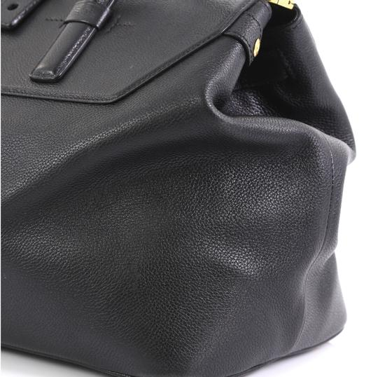 Tom Ford Petra Calfskin Medium Tote in black Image 7