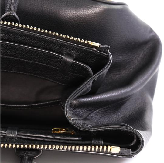 Tom Ford Petra Calfskin Medium Tote in black Image 8