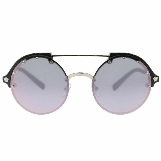 Versace Silver/Black Pink Mirrored Image 1
