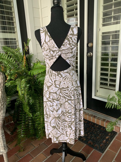 Tommy Bahama short dress green/white on Tradesy Image 3
