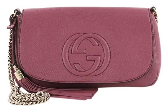 Gucci Leather Cross Body Bag Image 0