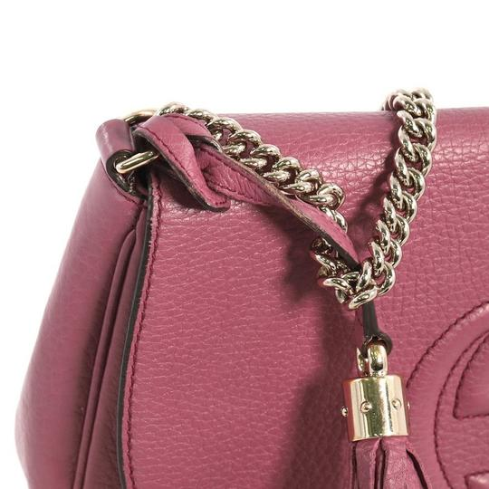 Gucci Leather Cross Body Bag Image 6