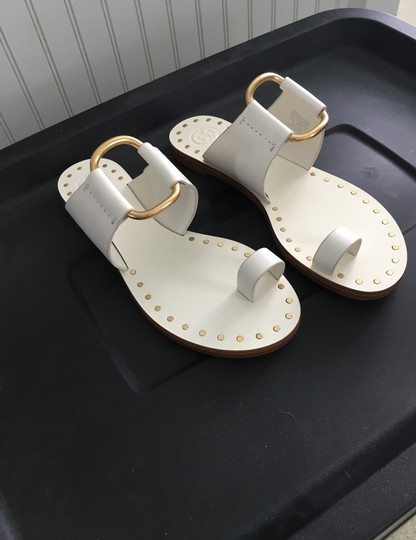 Tory Burch Perfect Ivory Sandals Image 11