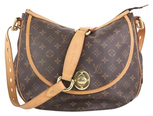Louis Vuitton Tulum Handbag Satchel in brown