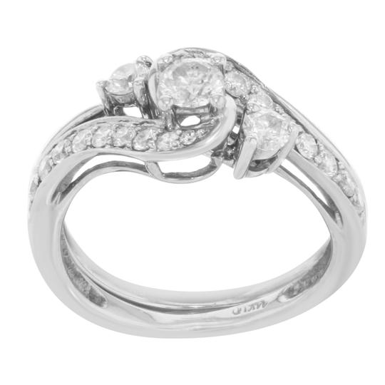 Preload https://img-static.tradesy.com/item/25679641/14k-white-gold-diamond-2pc-ladies-cocktail-060-cts-size-6-ring-0-0-540-540.jpg