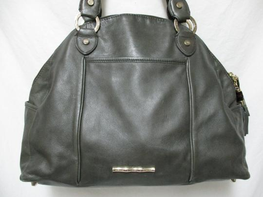Elaine Turner Leather Purse Large Braided Shoulder Bag Image 2