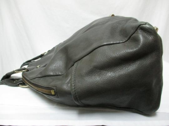 Elaine Turner Leather Purse Large Braided Shoulder Bag Image 6