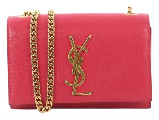 Saint Laurent Crossbody Leather Shoulder Bag Image 0