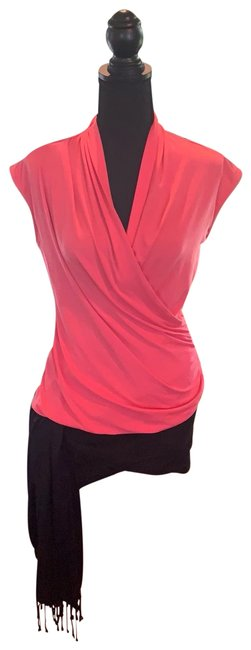 Preload https://img-static.tradesy.com/item/25679656/vince-camuto-pink-wrap-style-blouse-size-petite-8-m-0-1-650-650.jpg