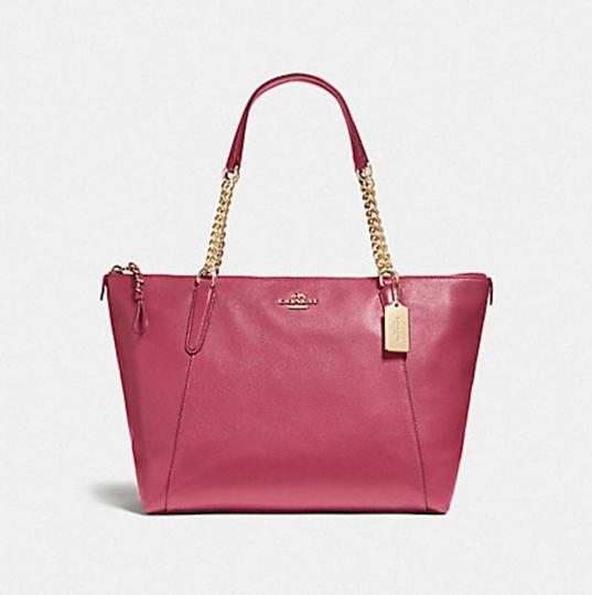 Coach Tote in pink Image 4