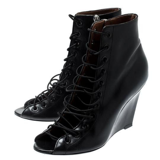 Givenchy Leather Black Boots Image 2