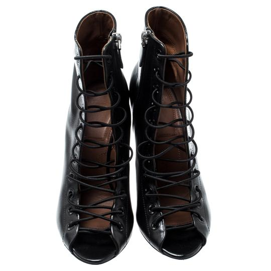 Givenchy Leather Black Boots Image 3