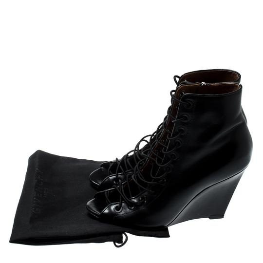 Givenchy Leather Black Boots Image 7