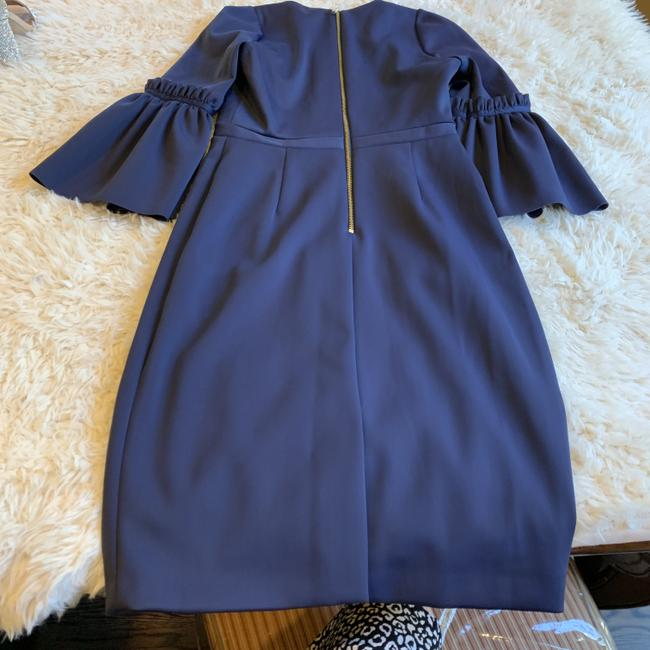 Ted Baker Bell Sleeve Fluted Embroider Midi Party Dress Image 2