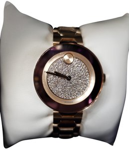 Movado Bold Crystal Pave Dial Ladies Watch 3600493