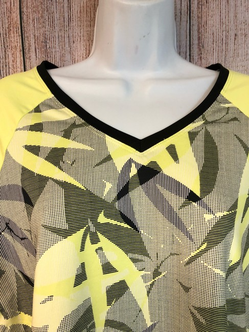 Tail NWT TAIL Intrigue Chartreuse UPF 50 Tennis Top XL Image 2