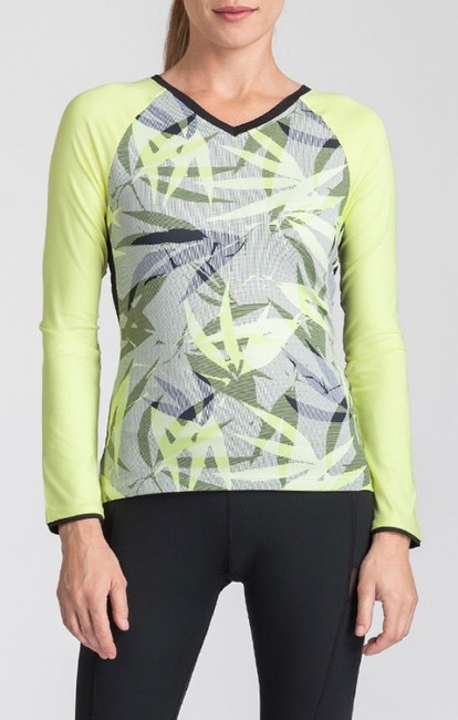 Tail NWT TAIL Intrigue Chartreuse UPF 50 Tennis Top XL Image 5