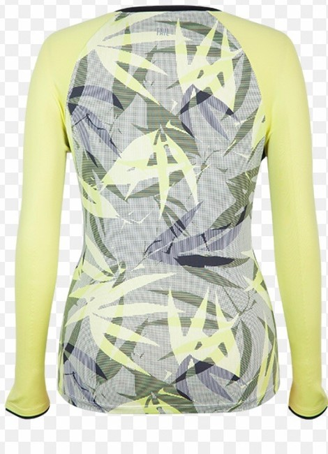 Tail NWT TAIL Intrigue Chartreuse UPF 50 Tennis Top XL Image 8