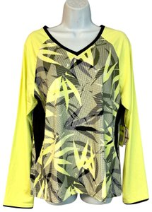 Tail NWT TAIL Intrigue Chartreuse UPF 50 Tennis Top XL
